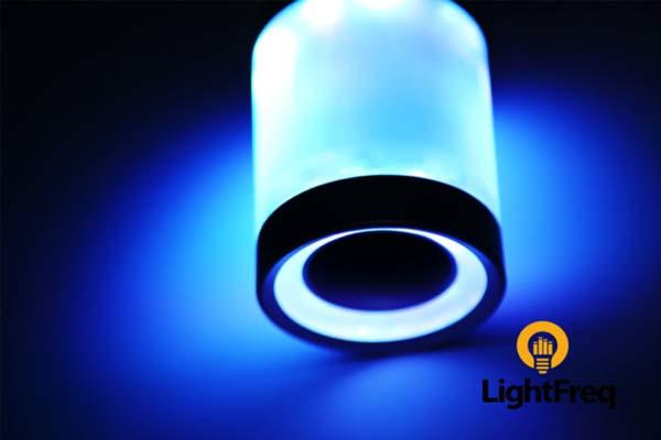 Lightfreq Smart Light Bulb With Built In Bluetooth Speaker