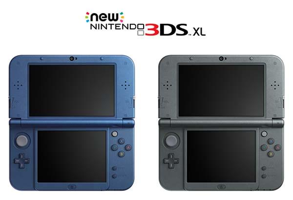 New Nintendo 3DS and 3DS XL Handheld Game Consoles