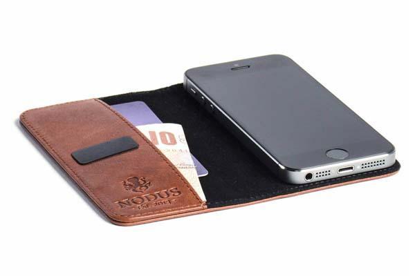 Nodus Access Leather iPhone 5 Case