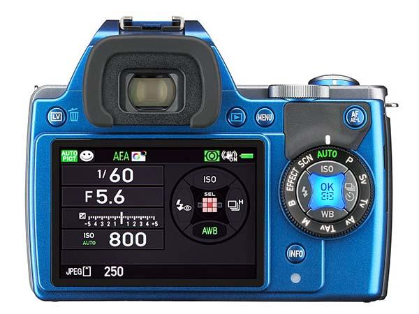Pentax K-S1 DSLR Camera with Illumination Interface System Released