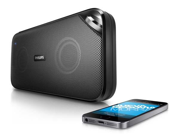 Philips BT3500B37 Portable Bluetooth Speaker with NFC