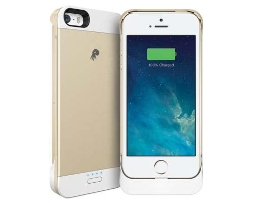 PowerSkin Spare Battery Case for iPhone 5/5s