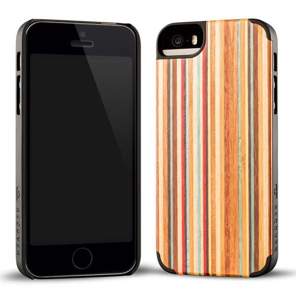 Recover Skateboard Wood iPhone 5s Case