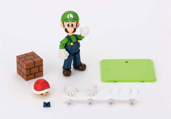 S H Figuarts Luigi Action Figure Gadgetsin