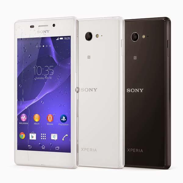 Sony Xperia M2 Aqua Waterproof Smartphone