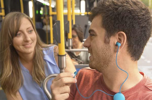 SoundOuts Bluetooth Headphones Know You Want to Pause Music