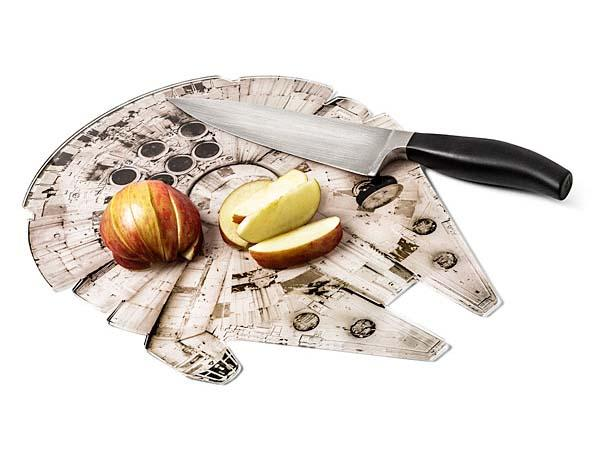 Star Wars Millennium Falcon Cutting Board