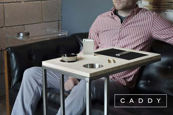 Caddy Tech Friendly Side Table