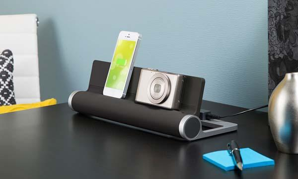 The Converge 4-Port USB Charging Station