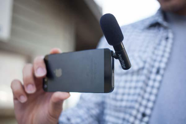 The Mighty Mic Ultra Portable Microphone for Mobile Devices