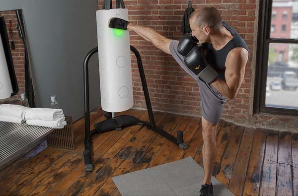 The Striker Turns Your Punching Bag into Smart Device