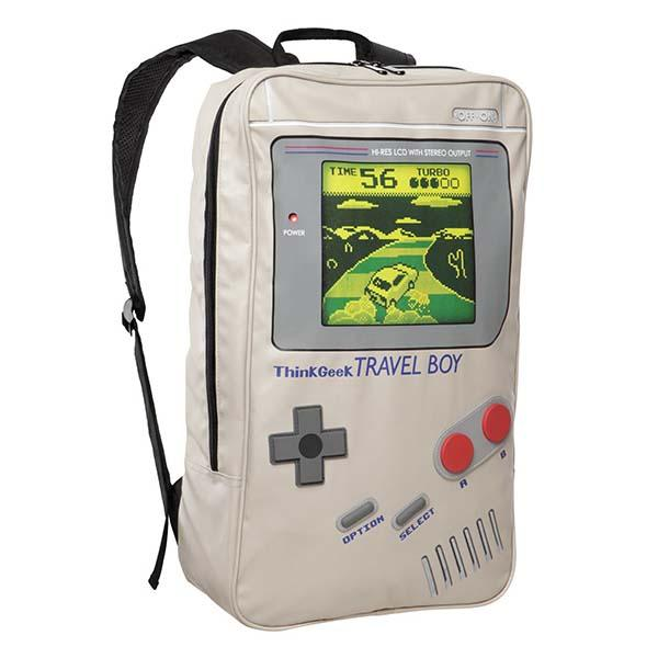 TravelBoy Gameboy Inspired Backpack