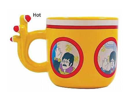 Yellow Submarine Heat Sensitive Coffee Mug