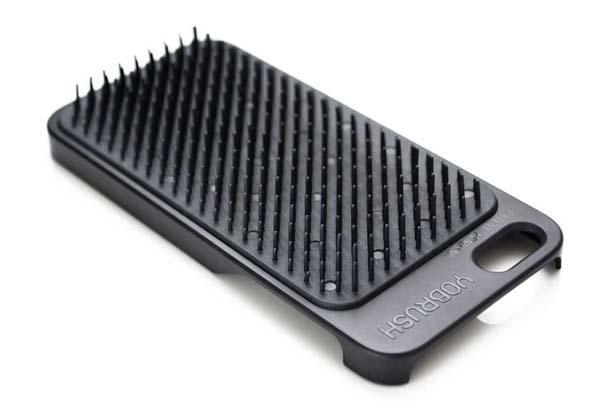 YoBrush iPhone 5s Case with Hairbrush
