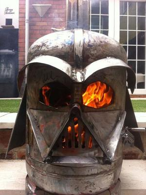 Star Wars Darth Vader Inspired Log Burner