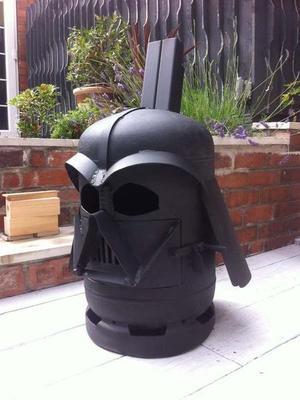 Star Wars Darth Vader Inspired Log Burner