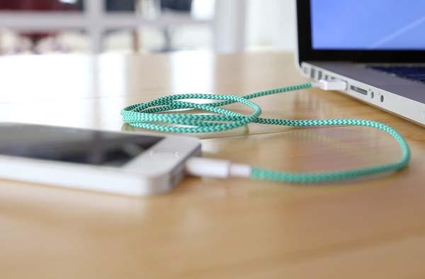 BelayCords Reversible USB Charging Cables for iPhone and Android Devices