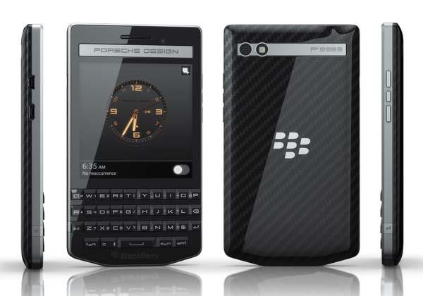 Porsche Design BlackBerry P9983 Smartphone Unveiled