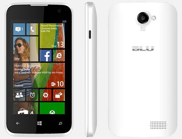 BLU Win JR Windows Phone
