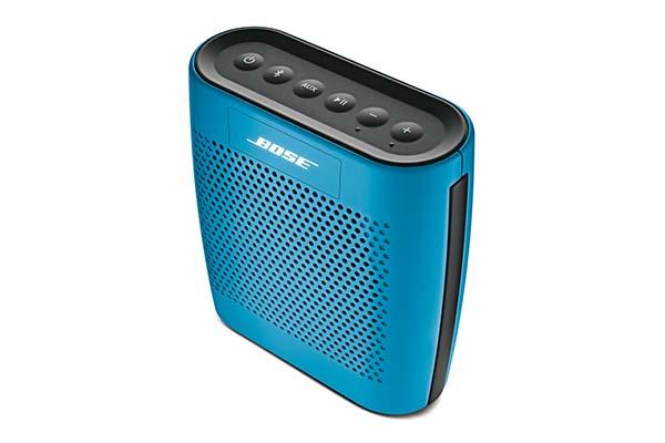 The SoundLink Color portable Bluetooth speaker comes in 5 colors and ...