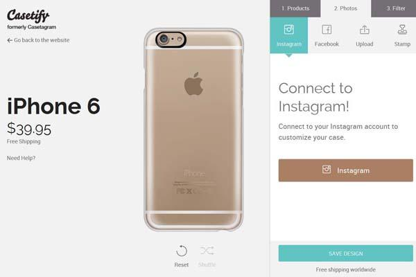 Casetify Customizable iPhone 6 Plus and iPhone 6 Cases