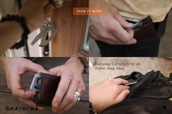 EDC Card Credit-Card Sized Multi-Tool