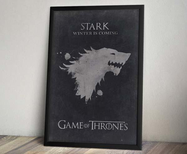 Game of Thrones Inspired Vintage Poster Set