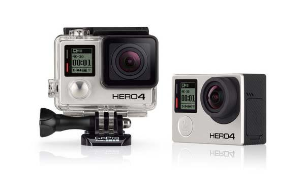 GoPro HERO4 Black and Silver Action Cameras Announced