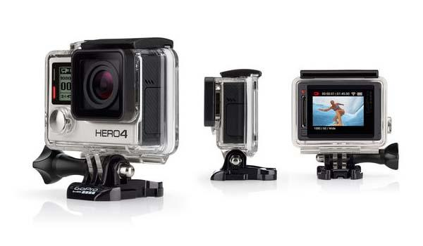 GoPro HERO4 Black and Silver Action Cameras