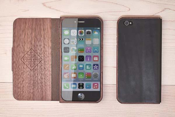 Grovemade Walnut & Leather iPhone 6 Plus and iPhone 6 Cases