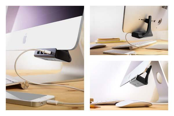 Huback USB 3.0 Hub for iMac