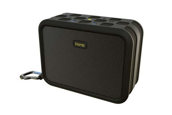 iHome iBN6 Portable Waterproof Bluetooth Speaker