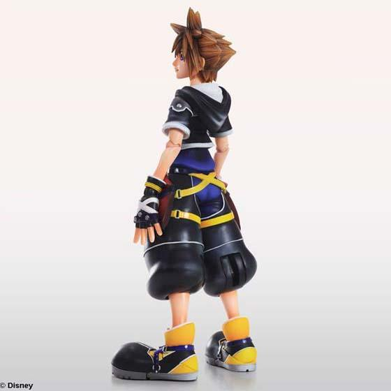 Kingdom Hearts II Play Arts Kai Sora Action Figure