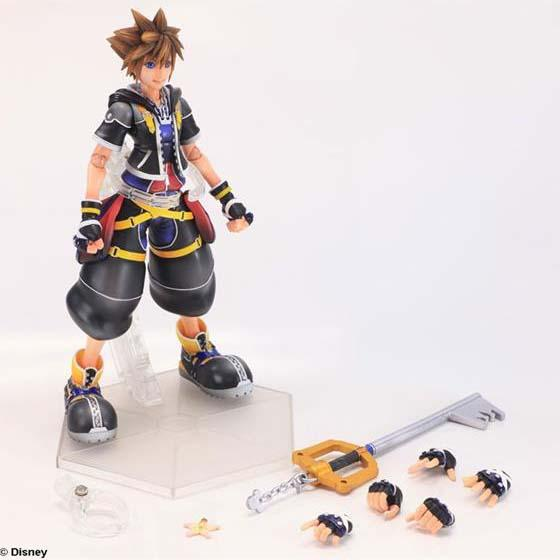 Kingdom Hearts II Play Arts Kai Sora Action Figure