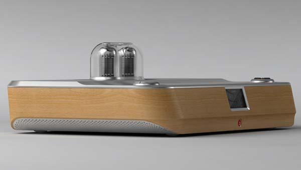 Låmpion Tube Amplifier with Docking Station for Smartphones and Tablets