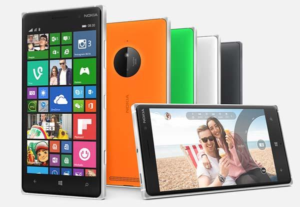 Microsoft Lumia 830 Windows Phone