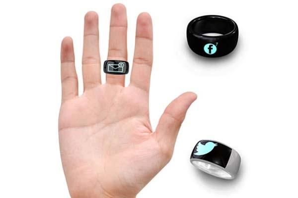 MOTA SmartRing Lets You Read Messages on Your Finger ...