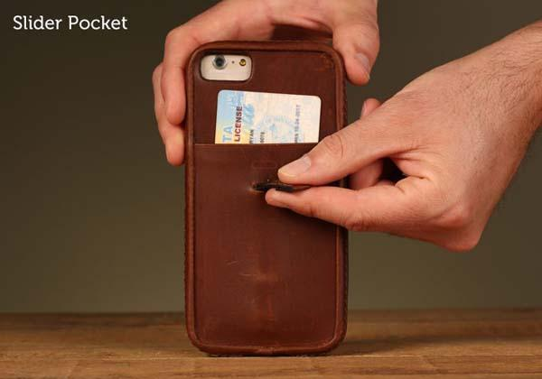 Pad&Quill Traveler iPhone 6 Leather Case
