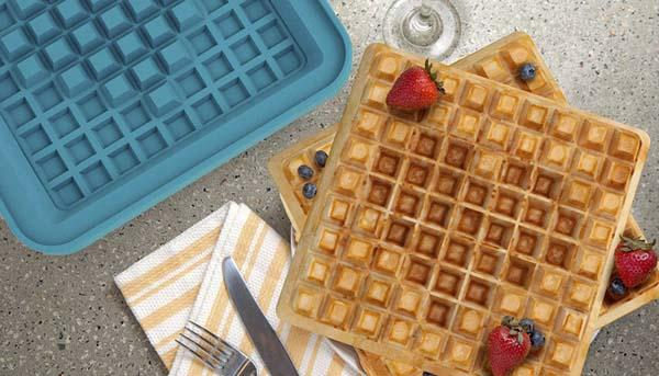 Pixel Waffle Maker for 8-Bit Lovers
