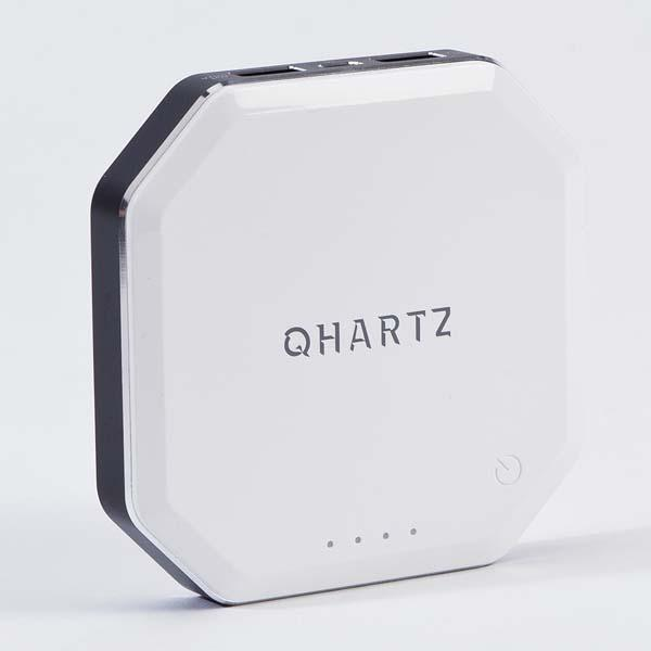 QHARTZ Wireless Charger with 8000mAh Battery Pack