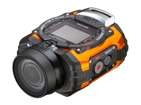 Ricoh WG-M1 Waterproof Action Camera Announced