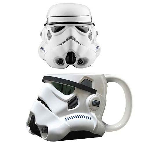 Star Wars Stormtrooper Bust Figural Coffee Mug