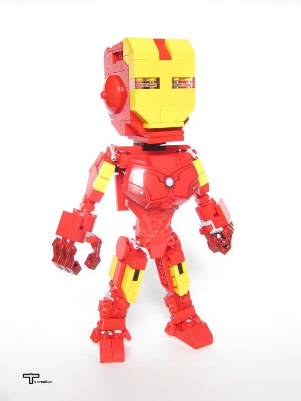 Lego Figures Toys : The awesome lego superhero action figures gadgetsin