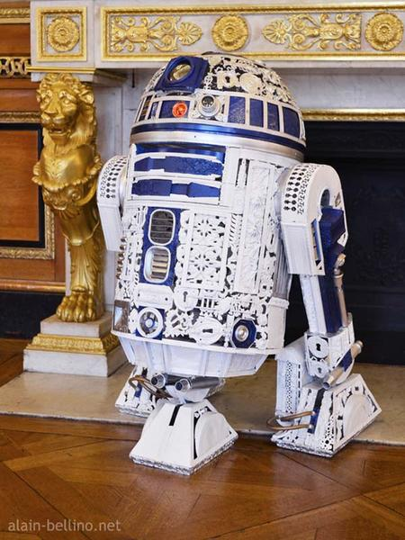 The Awesome R2-D2 from Victorian Galactic Empire