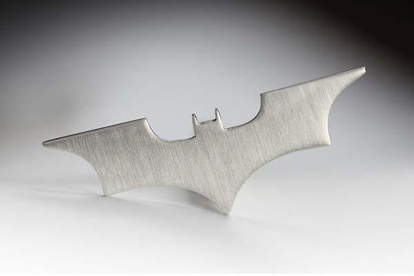 The Handmade Personalized Silver Batman Cufflinks