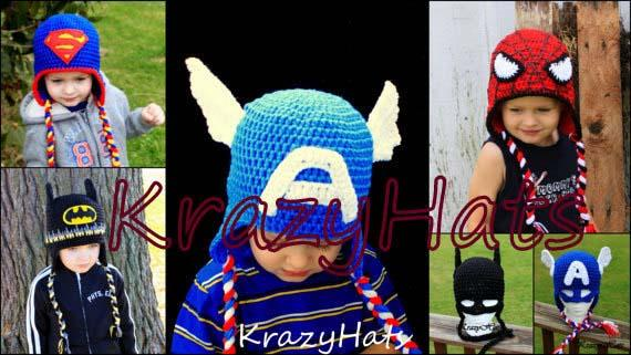 The Handmade Superhero Crochet Hats