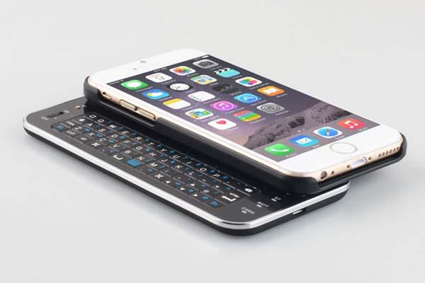 The Ultra-Thin Slide-Out iPhone 6 Keyboard Case