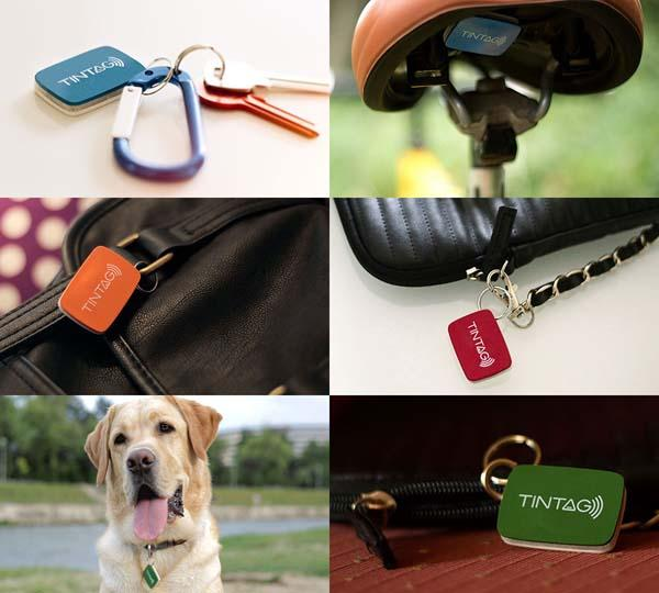 Tintag Bluetooth Item Tracking Device with Rechargeable Battery