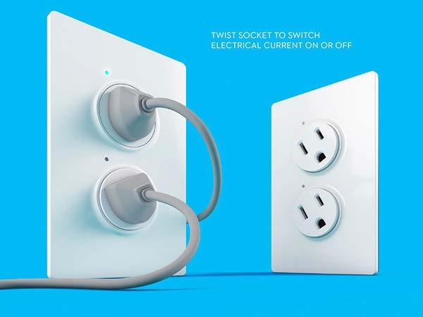 TwistPlug Wall Socket Protects Your Little Ones