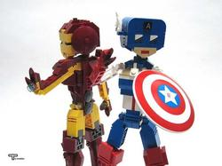 The Awesome LEGO Superhero Action Figures